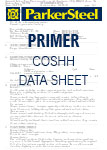 Primer COSHH Data Sheet