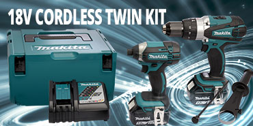18v Cordless Twin Kit